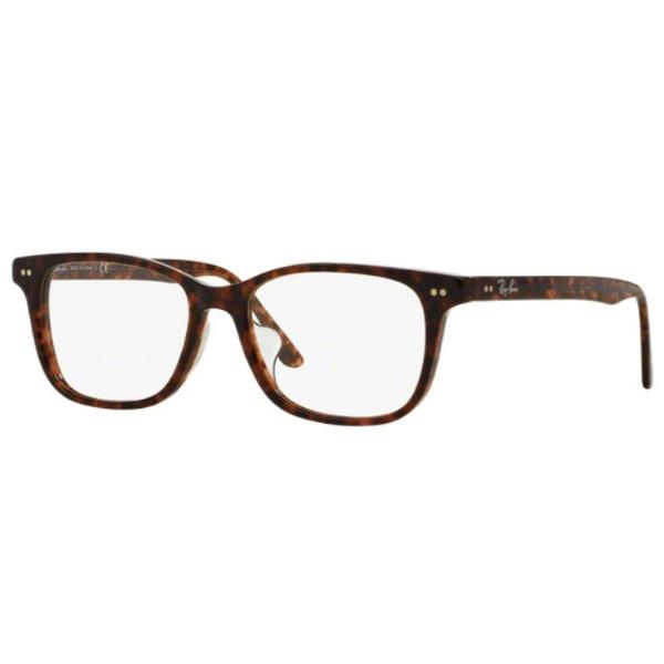 【送料無料】 レイバン RayBan 【度付き】RayBan メガネセット(トータス)RX5306D 2372 53mm[薄型/屈折率1.60/非球面/PCレンズ]
