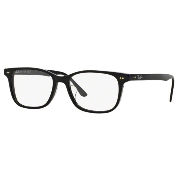 【送料無料】 レイバン RayBan 【度付き】RayBan メガネセット(ブラック)RX5306D 2000 53mm[薄型/屈折率1.60/非球面/PCレンズ]