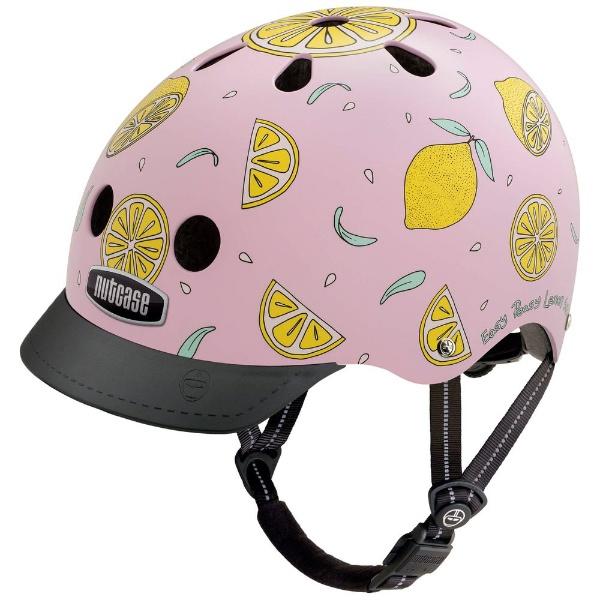 【送料無料】 NUTCASE 自転車用ヘルメット Street Helmet(ピンクレモネード/Mサイズ:56~60cm)