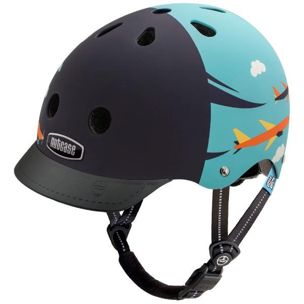 【送料無料】 NUTCASE 子供用ヘルメット Little Nutty(スカイフライヤー/XSサイズ:48~52cm)