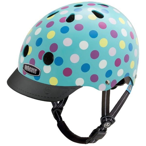 【送料無料】 NUTCASE 子供用ヘルメット Little Nutty(ケーキポップス/XSサイズ:48~52cm)