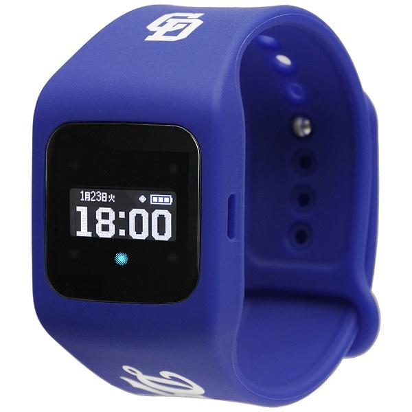 【送料無料】 シャープ SHARP ウェアラブル端末(ウォッチタイプ) 中日ドラゴンズ青モデル 「funband(ファンバンド)」 SA-BY017-Blue