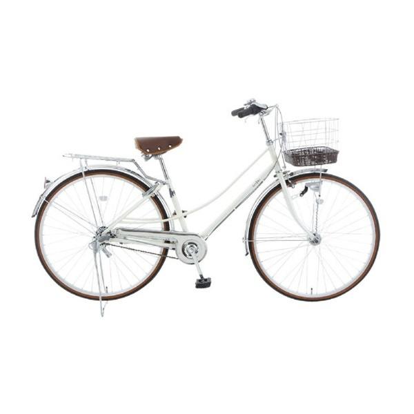 【送料無料】 イーストボーイ 27型 自転車 EASTBOY デラックス(ホワイト/内装3段変速) 18EB273DX【2018年モデル】【組立商品につき返品不可】 【代金引換配送不可】