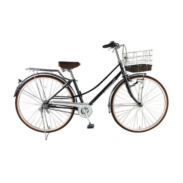 【送料無料】 イーストボーイ 27型 自転車 EASTBOY デラックス(ネイビー/内装3段変速) 18EB273DX【2018年モデル】【組立商品につき返品不可】 【代金引換配送不可】