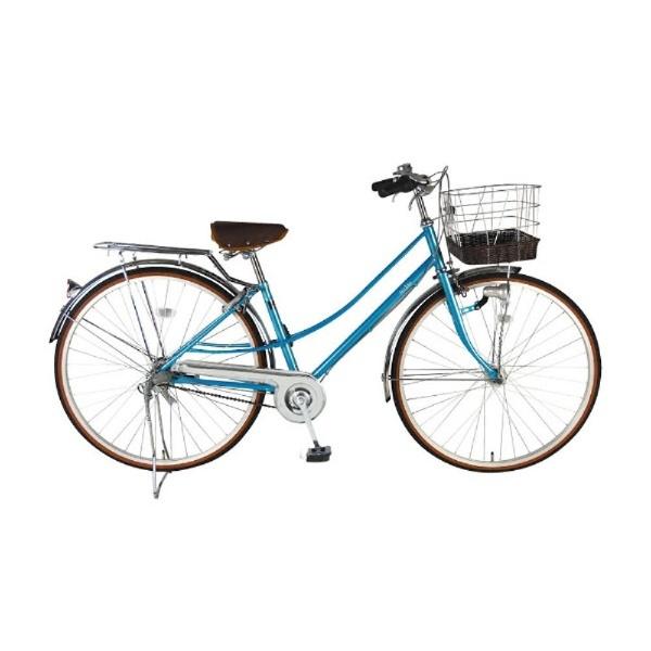 【送料無料】 イーストボーイ 27型 自転車 EASTBOY デラックス(オーシャンブルー/内装3段変速) 18EB273DX【2018年モデル】【組立商品につき返品不可】 【代金引換配送不可】