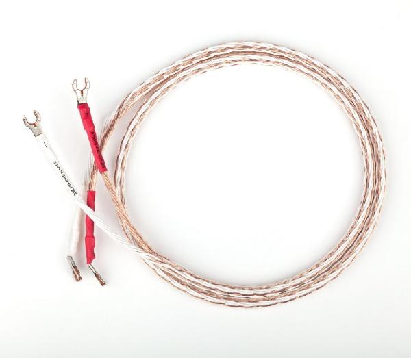 【送料無料】 KIMBER 2.5m スピーカーケーブル 両端Yラグコネクタ取り付け済 8TC/2.5M/PM [2m~]