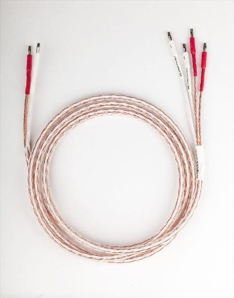 【送料無料】 KIMBER 2.5m スピーカーケーブル 両端バナナプラグコネクタ取り付け済 8TC/2.5M/SBAN/BW [2m~]