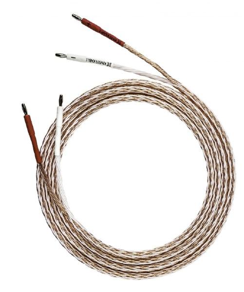 【送料無料】 KIMBER 3.0m スピーカーケーブル 両端バナナプラグコネクタ取り付け済 8TC/3.0M/SBAN/BW [3m~]