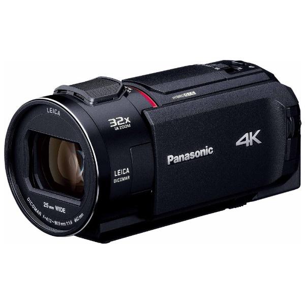 【送料無料】 パナソニック Panasonic SD対応 64GBメモリー内蔵4Kビデオカメラ HC-WX1M ブラック