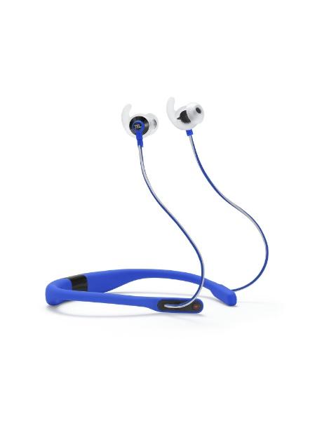 /防滴 /Bluetooth] 【送料無料】 ブルー ブルートゥースイヤホン JBL [リモコン・マイク対応 JBLREFFITBLU カナル型