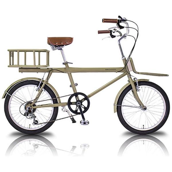 【送料無料】 WACHSEN 20型 自転車 カーゴバイク colot(6段変速) WBG-2001【2018年モデル】【組立商品につき返品不可】 【代金引換配送不可】