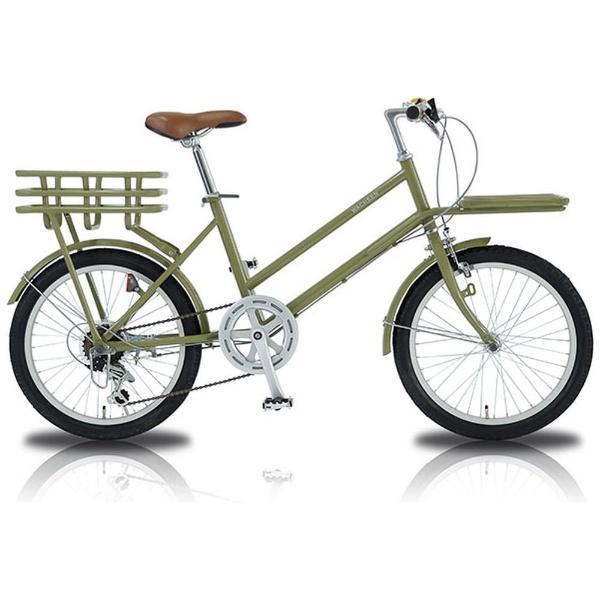 【送料無料】 WACHSEN 20型 自転車 カーゴバイク ROKE(6段変速) WBG-2002【2018年モデル】【組立商品につき返品不可】 【代金引換配送不可】