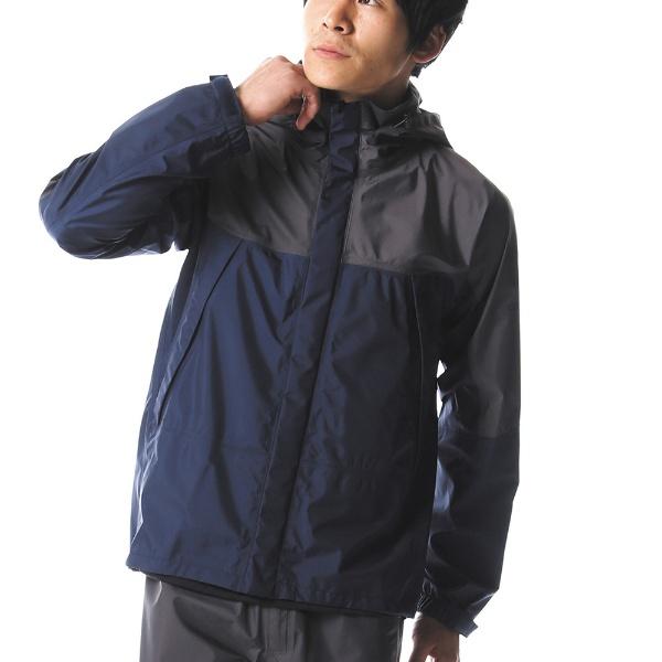 【送料無料】 ミズノ メンズ レインウェア ベルグテックEXストームセイバーVI レインスーツ(XLサイズ/ドレスネイビー) A2MG8A0114