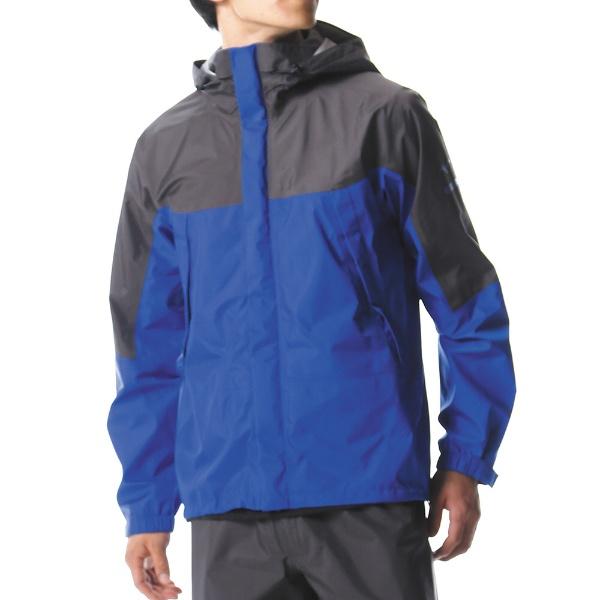 【送料無料】 ミズノ メンズ レインウェア ベルグテックEXストームセイバーVI レインスーツ(XLサイズ/ブルー) A2MG8A0125