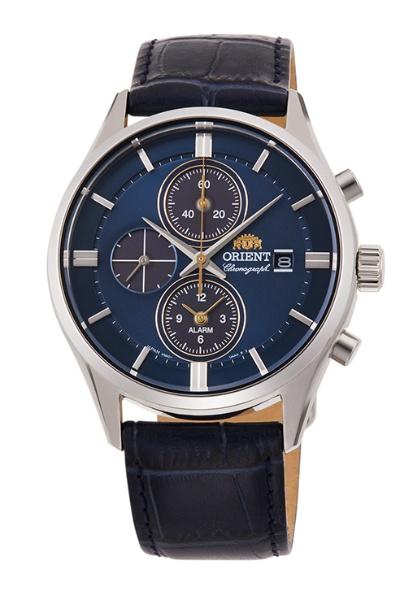 【送料無料】 オリエント時計 オリエント(Orient)コンテンポラリー「クロノグラフ」LIGHT CHARGE RN-TY0004L