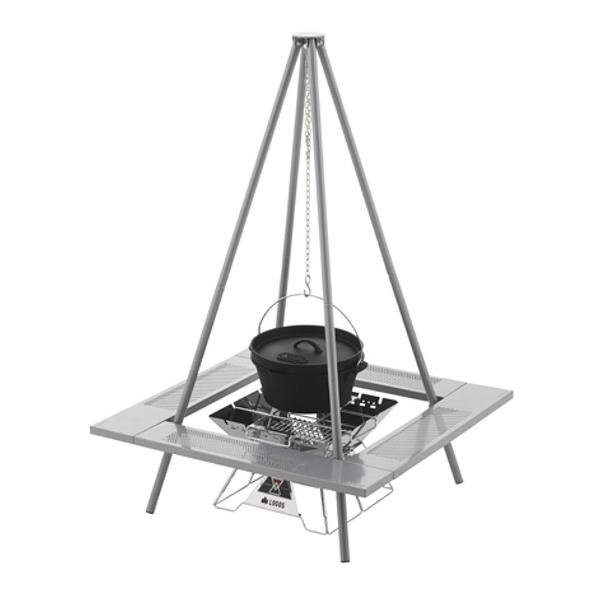 【送料無料】 ロゴス 囲炉裏ピラミッドパッケージ 81064100