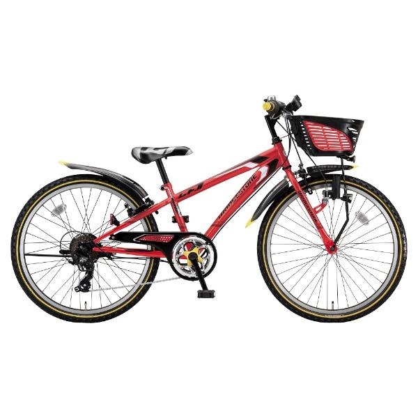 【送料無料】 ブリヂストン 24型 子供用自転車 クロスファイヤー ジュニア(F.Xピュアレッド/7段変速) CFJ47【2018年モデル】 【代金引換配送不可】