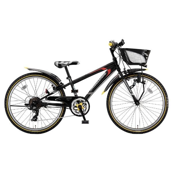 【送料無料】 ブリヂストン 26型 子供用自転車 クロスファイヤー ジュニア(P.Xシーニックブラック/7段変速) CFJ67【2018年/ダイナモモデル】 【代金引換配送不可】