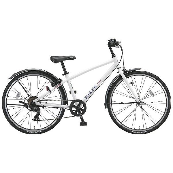 【送料無料】 ブリヂストン 24型 子供用自転車 シュライン(P.Xオーロラホワイト/7段変速) SHL47【2018年モデル】【組立商品につき返品不可】 【代金引換配送不可】