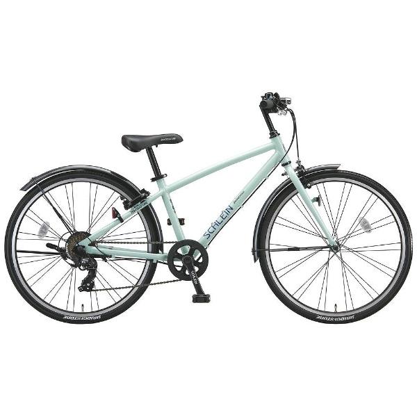 【送料無料】 ブリヂストン 24型 子供用自転車 シュライン(E.Xミストグリーン/7段変速) SHL47【2018年モデル】 【代金引換配送不可】