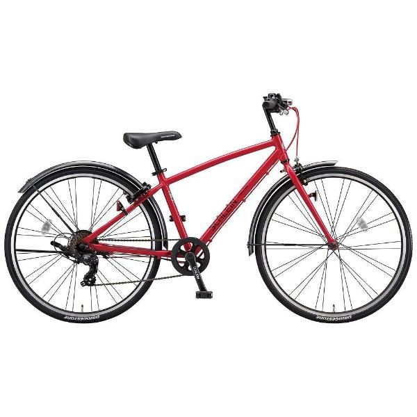 【送料無料】 ブリヂストン 26型 子供用自転車 シュライン(F.Xピュアレッド/7段変速) SHL67【2018年モデル】 【代金引換配送不可】