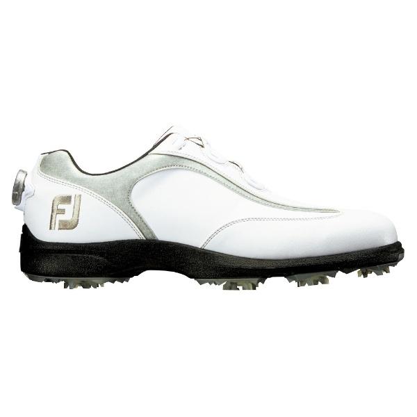 【送料無料】 フットジョイ メンズ ゴルフシューズ FJ SPORT LT Boa(26.5cm/ホワイト×シルバー)#53230