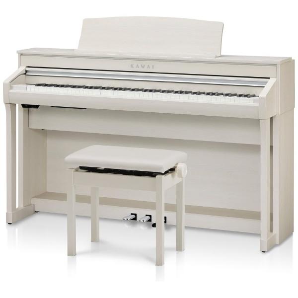【送料無料】 河合楽器 【標準設置費込み】電子ピアノ CA58A プレミアムホワイトメープル調仕上げ [88鍵盤] 【メーカー直送・代金引換不可・時間指定・返品不可】