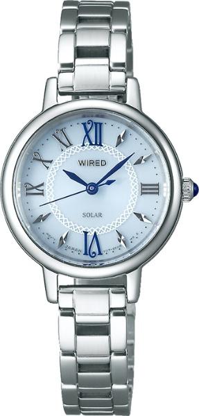 【送料無料】 アルバ [ソーラー時計]ワイアードエフ(WIREDf) 「クールヴィンテージ ソーラー 丸型」 AGED098 AGED098