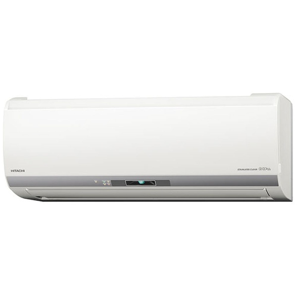 【標準工事費込!】 日立 HITACHI RAS-EBK36H-W エアコン ステンレス・クリーン 白くまくん EBKシリーズ [おもに12畳用 /100V]