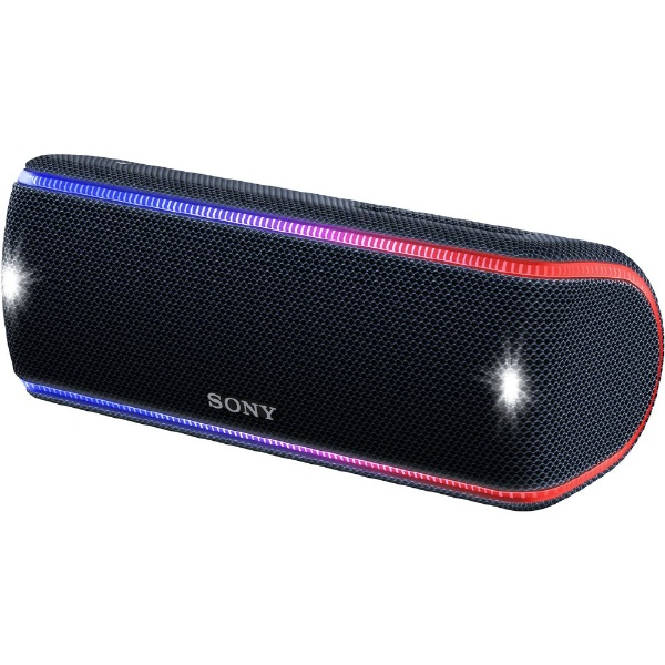 【送料無料】 ソニー SONY ブルートゥーススピーカー SRS-XB31BC ブラック [Bluetooth対応 /防水]