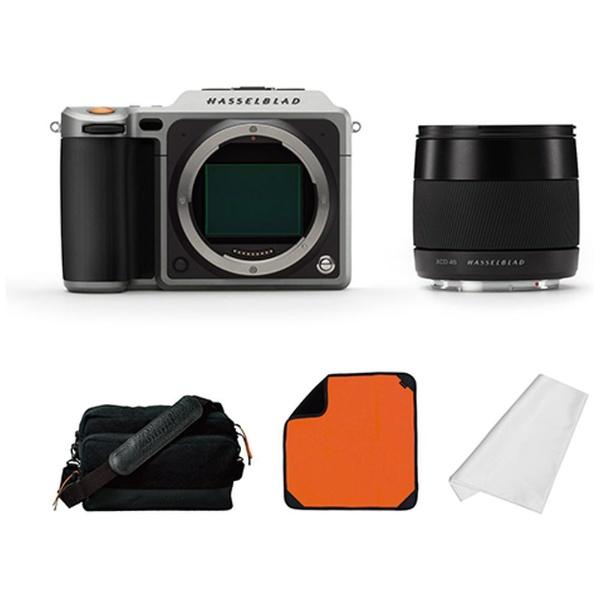 【送料無料】 ハッセルブラッド X1D エクスペリエンス・パッケージ(Silver)/ミラーレス中判デジタルカメラ HJ3015025