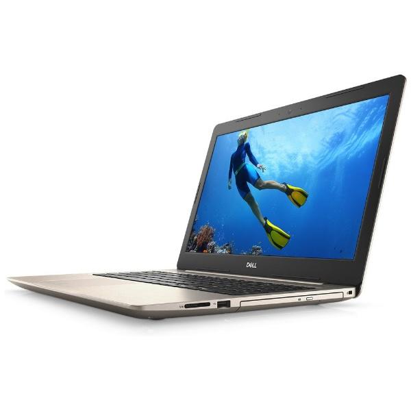 【送料無料】 DELL デル NI65-8HHBRg ノートパソコン Inspiron 15 5000 5575 ローズゴールド [15.6型 /HDD:1TB /メモリ:8GB /2018年春モデル]