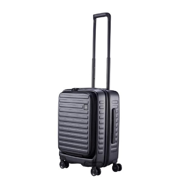 【送料無料】 LOJEL スーツケース CUBO-N Sサイズ CUBONSBK ブラック 【メーカー直送・代金引換不可・時間指定・返品不可】