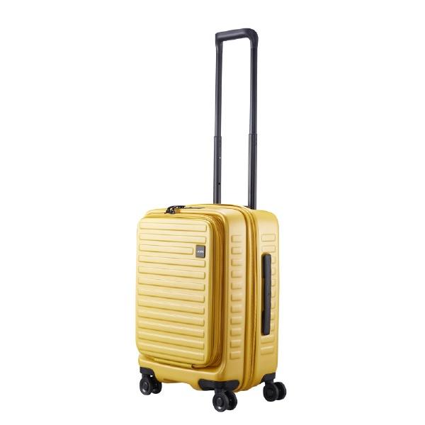 【送料無料】 LOJEL スーツケース CUBO-N Sサイズ CUBONSMS マスタード 【メーカー直送・代金引換不可・時間指定・返品不可】