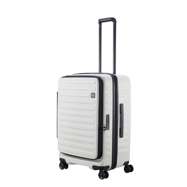 【送料無料】 LOJEL スーツケース CUBO-N Mサイズ CUBONMWH ホワイト 【メーカー直送・代金引換不可・時間指定・返品不可】