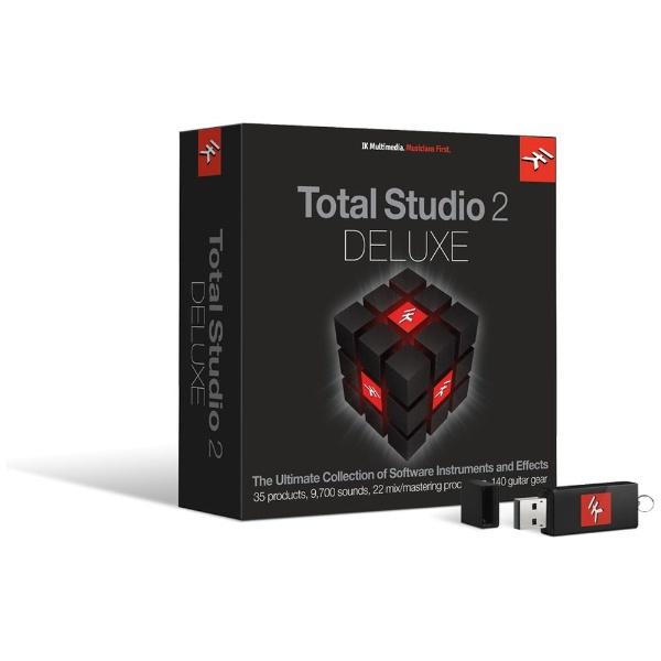 【送料無料】 IKMULTIMEDIA 〔Win・Mac版/USBメモリ〕 Total Studio 2 DELUXE [Win・Mac用]