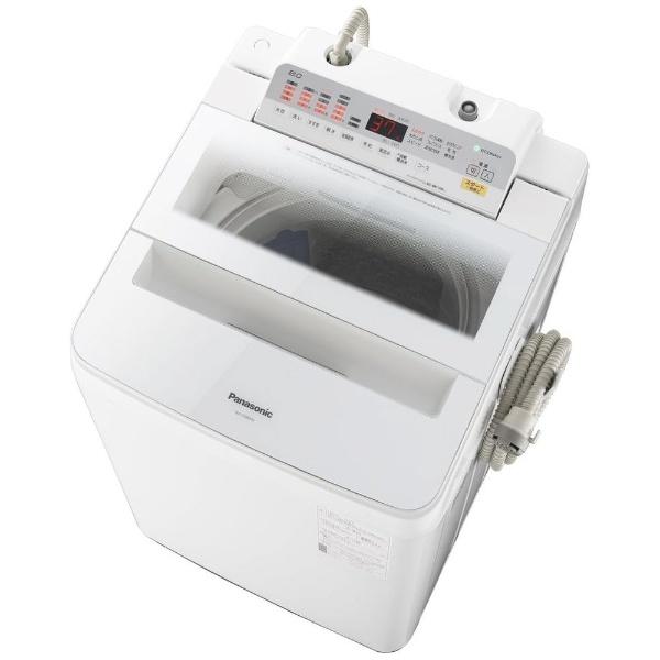 【標準設置費込み】 パナソニック Panasonic NA-FA80H6-W 全自動洗濯機 ホワイト [洗濯8.0kg /乾燥機能無 /上開き]