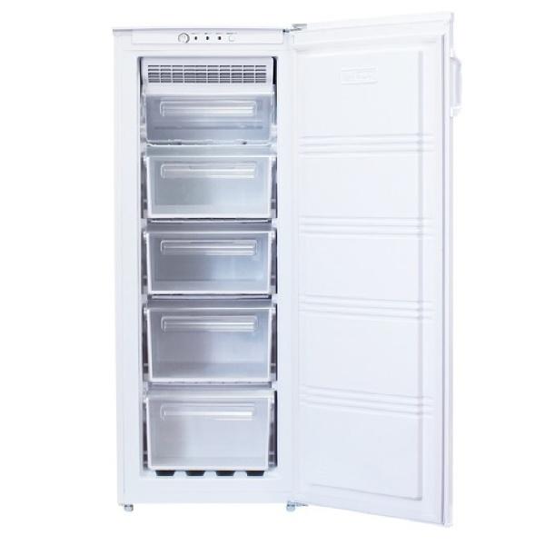 【標準設置費込み】 ノーフロスト 《基本設置料金セット》FFU115RF-A 冷凍庫 ホワイト [1ドア /右開きタイプ /151L]