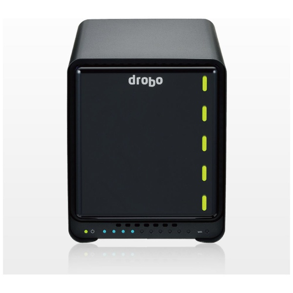 【送料無料】 DROBO HDDケース 3.5インチ 5台[USB-C 3.0/Thunderbolt・Mac/Win] Drobo 5D3 PDR-5D3 ブラック [5台]