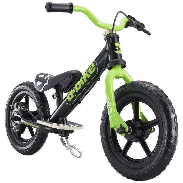 【送料無料】 アイデス 12型相当 幼児用自転車 D-BIKE KIX V(ブラック/シングルシフト)【組立商品につき返品不可】 【代金引換配送不可】【メーカー直送・代金引換不可・時間指定・返品不可】