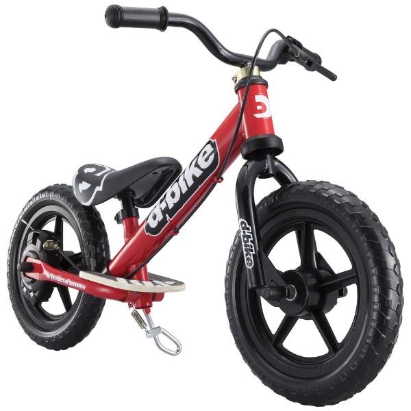 【送料無料】 アイデス 12型相当 幼児用自転車 D-BIKE KIX V(レッド/シングルシフト)【組立商品につき返品不可】 【代金引換配送不可】【メーカー直送・代金引換不可・時間指定・返品不可】