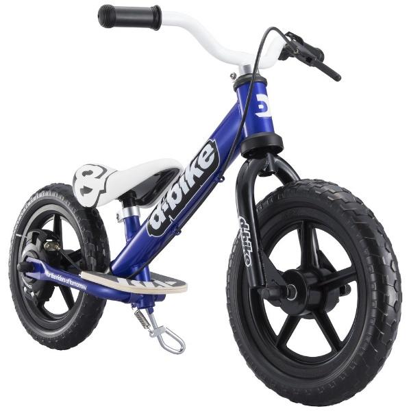 【送料無料】 アイデス 12型相当 幼児用自転車 D-BIKE KIX V(ネイビー/シングルシフト)【組立商品につき返品不可】 【代金引換配送不可】【メーカー直送・代金引換不可・時間指定・返品不可】