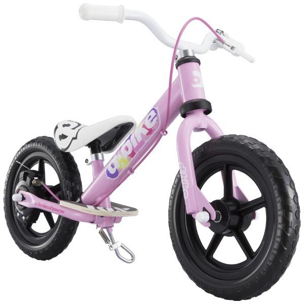 【送料無料】 アイデス 12型相当 幼児用自転車 D-BIKE KIX V(ベイビーピンク/シングルシフト)【組立商品につき返品不可】 【代金引換配送不可】【メーカー直送・代金引換不可・時間指定・返品不可】