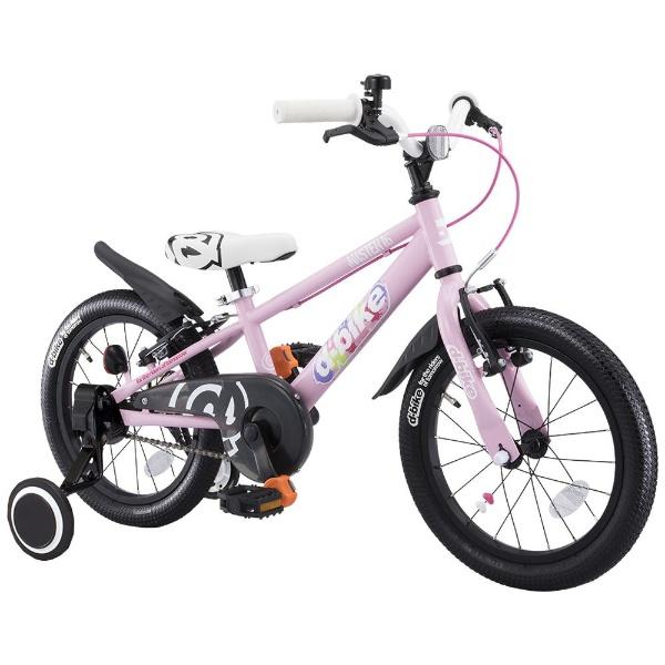 【送料無料】 アイデス 18型 幼児用自転車 D-BIKE MASTER 18V 補助輪付き(ベイビーピンク/シングルシフト)【組立商品につき返品不可】 【代金引換配送不可】【メーカー直送・代金引換不可・時間指定・返品不可】
