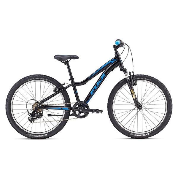 【送料無料】 FUJI 24型 子供用自転車 DYNAMITE 24 Sports(ブラック×ブルー/7段変速) 18DYNAMITE24【組立商品につき返品不可】 【代金引換配送不可】【メーカー直送・代金引換不可・時間指定・返品不可】