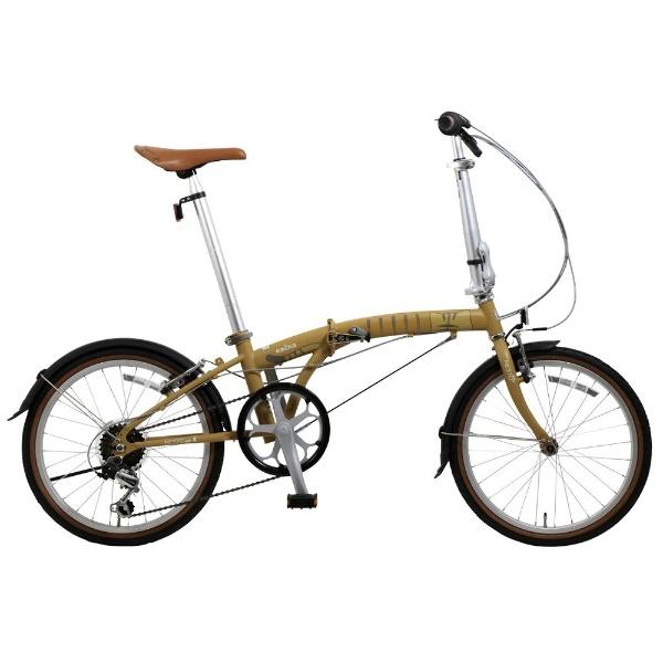 【送料無料】 NESTO 20型 折りたたみ自転車 kocka-K キジトラ(ブラウン/外装6段変速) NE-18-020【2018年モデル】 【代金引換配送不可】【メーカー直送・代金引換不可・時間指定・返品不可】