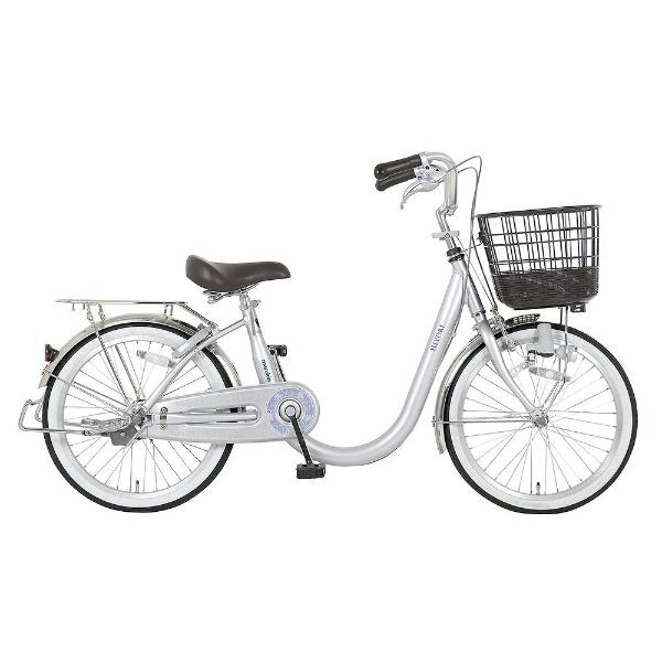 【送料無料】 MARUKIN 20型 自転車 ヒヨリ-K(シルバー/シングルシフト) MK-18-028【2018年モデル】 【代金引換配送不可】【メーカー直送・代金引換不可・時間指定・返品不可】