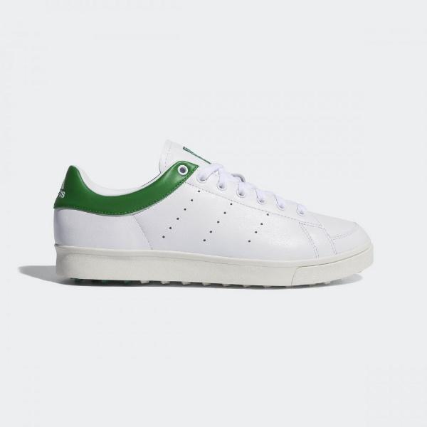 【ご予約品】 【送料無料】 アディダス adidas メンズ メンズ ゴルフシューズ adidas アディクロスクラシック アディダス ワイド(25.0cm/ランニングホワイト×ランニングホワイト×グリーン) F33781, 子供服のキイロイキ:78651731 --- rekishiwales.club