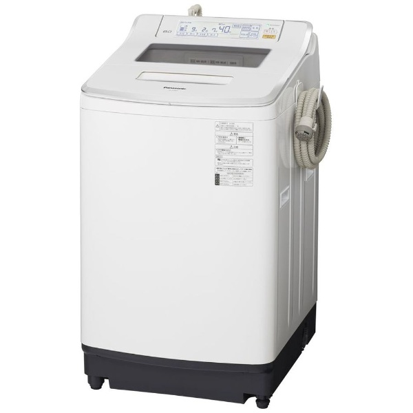 【標準設置費込み】 パナソニック Panasonic NA-JFA805-W 全自動洗濯機 Jconcept(Jコンセプト) クリスタルホワイト [洗濯8.0kg /乾燥機能無 /上開き]