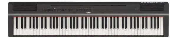 【送料無料】 ヤマハ YAMAHA P-125B 電子ピアノ Pシリーズ ブラック [88鍵盤]